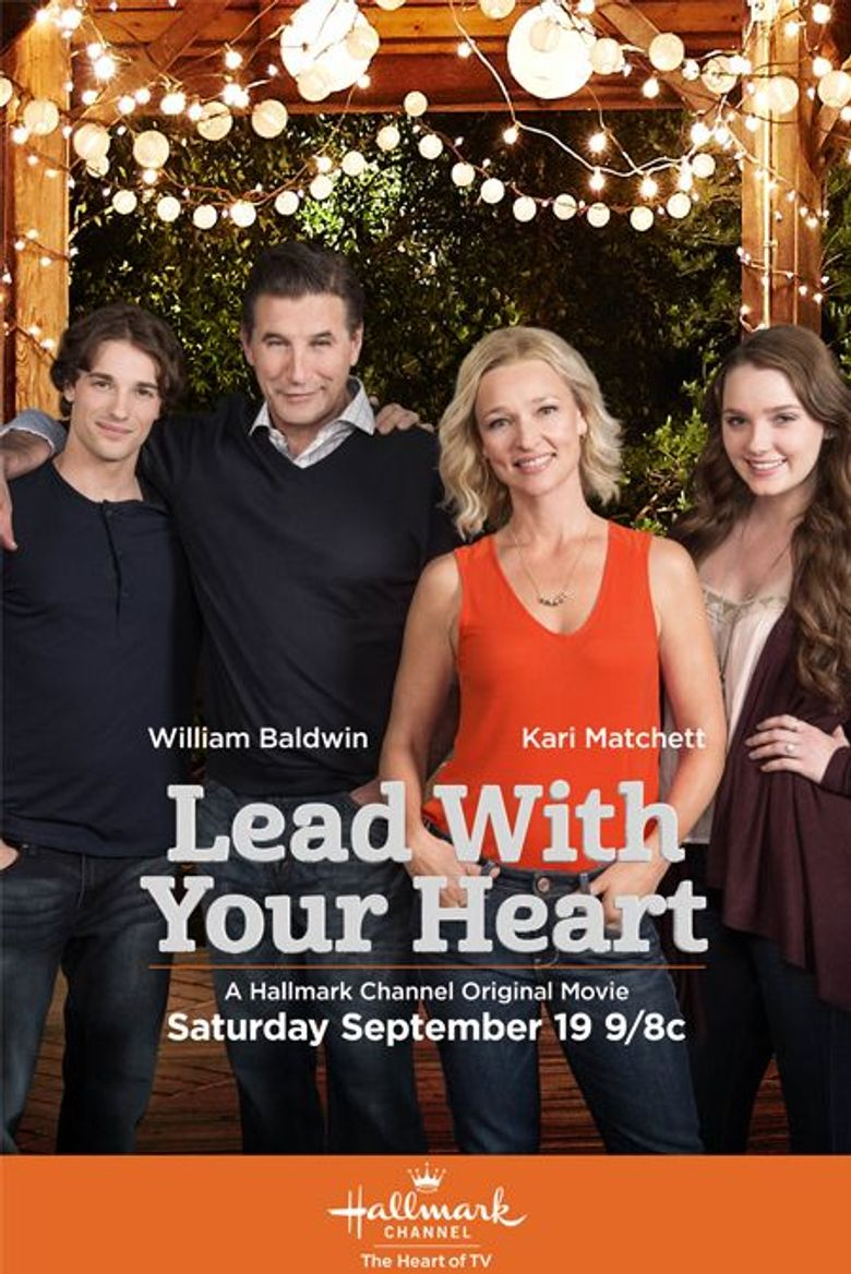 Lead with Your Heart Poster