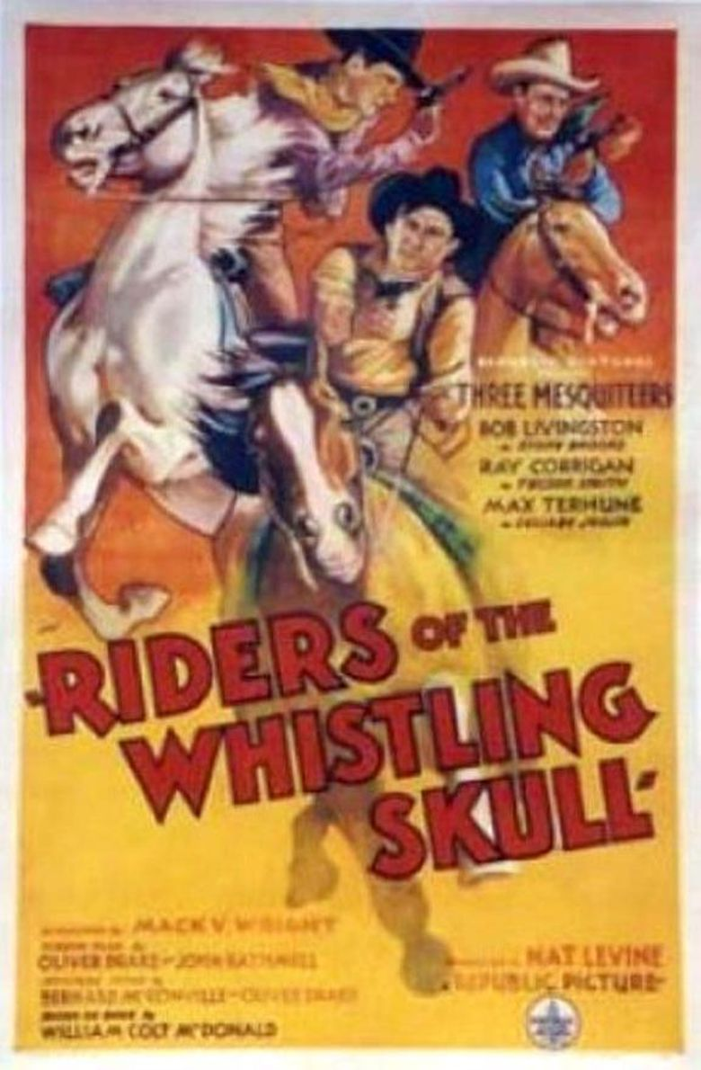 Riders of the Whistling Skull Poster