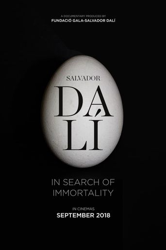 Salvador Dalí: In Search of Immortality Poster