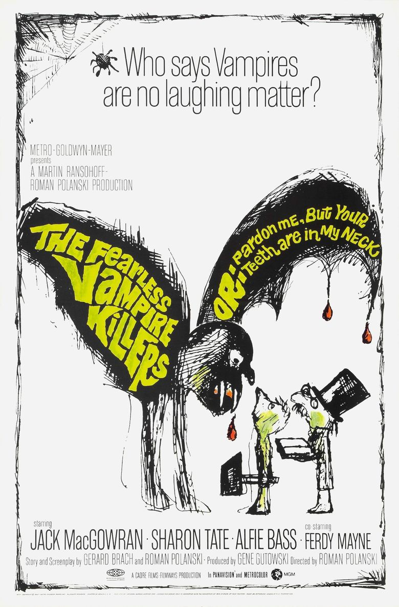 The Fearless Vampire Killers Poster