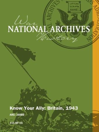 Know Your Ally: Britain Poster