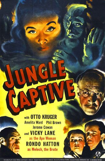 Jungle Captive Poster