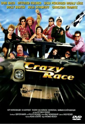 Crazy Race Poster