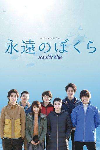 Seaside Blue Poster