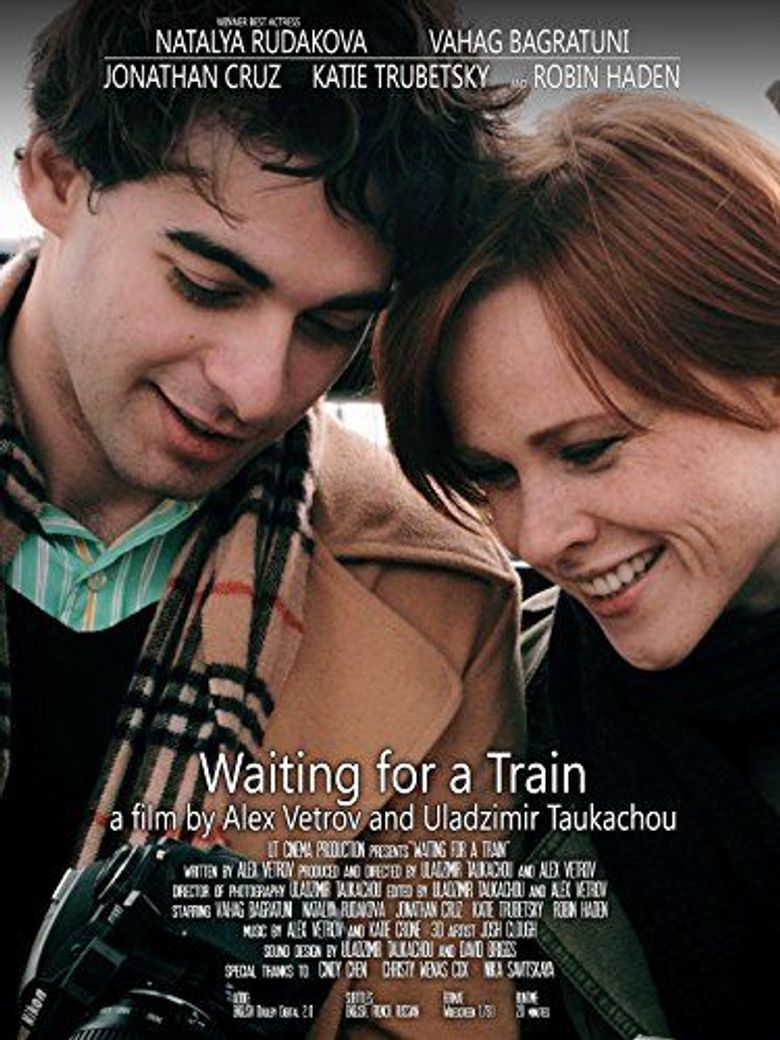 Waiting for a Train Poster