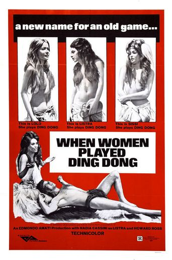 When Men Carried Clubs and Women Played Ding-Dong Poster
