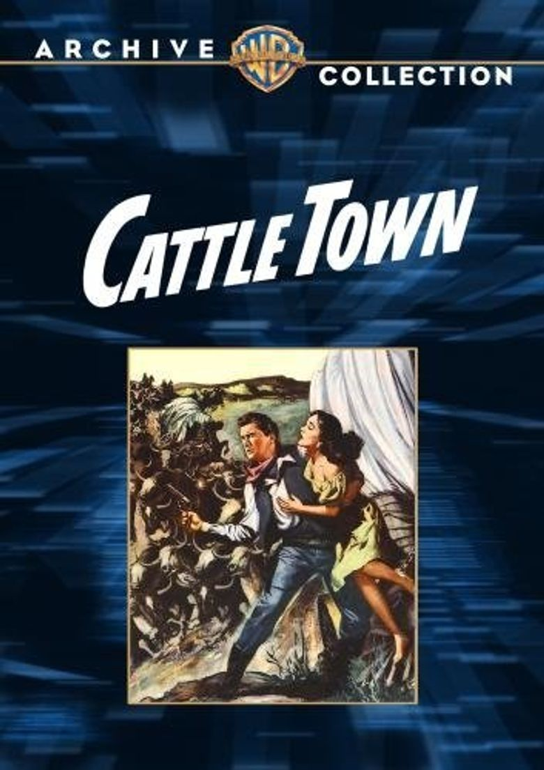 Cattle Town Poster