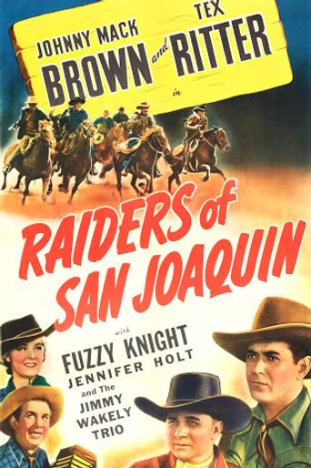 Raiders of San Joaquin Poster