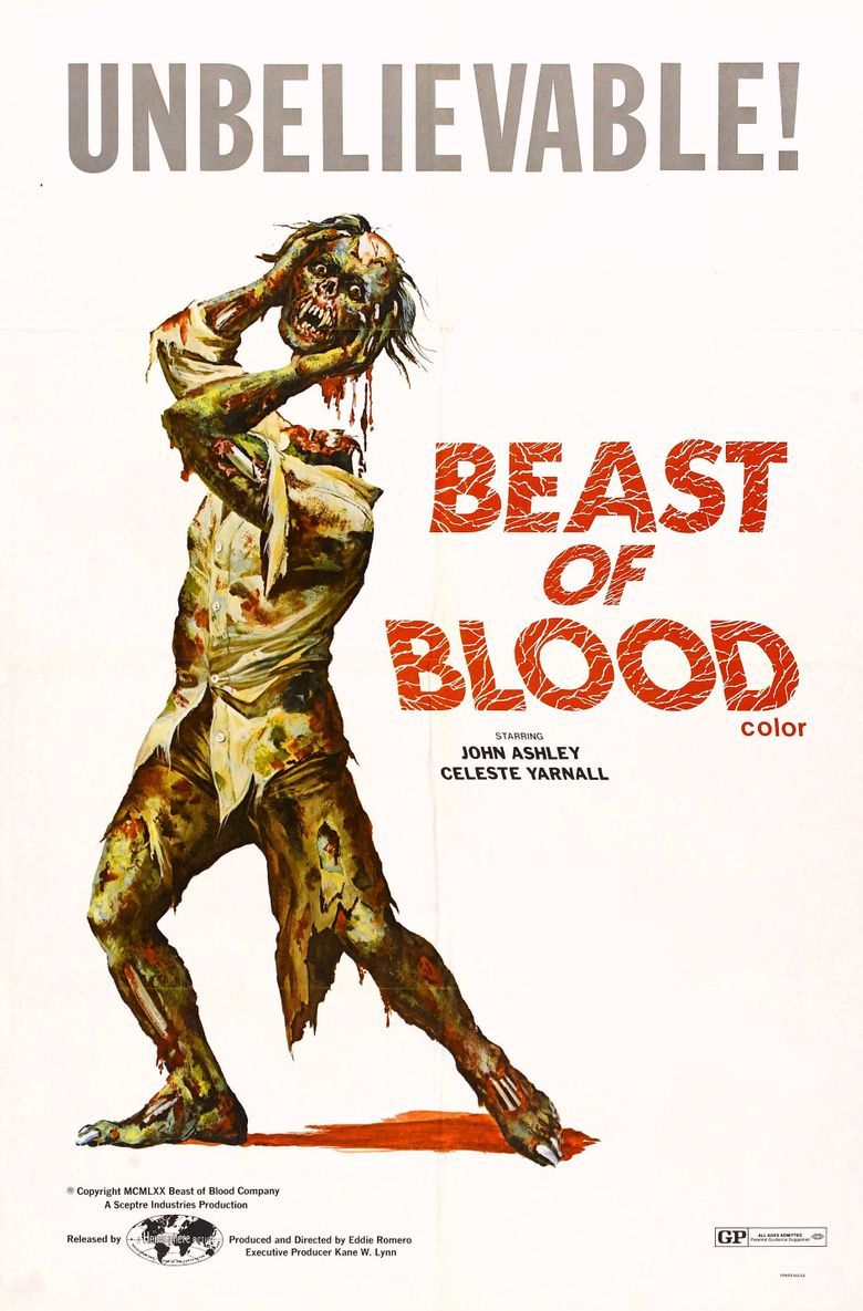 Beast of Blood Poster