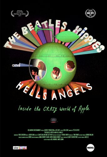 The Beatles, Hippies and Hells Angels: Inside the Crazy World of Apple Poster