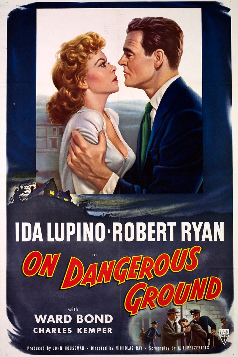 On Dangerous Ground Poster