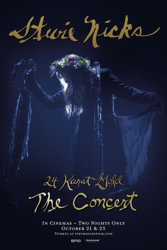 Stevie Nicks: Live In Concert The 24 Karat Gold Tour Poster