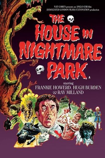The House in Nightmare Park Poster