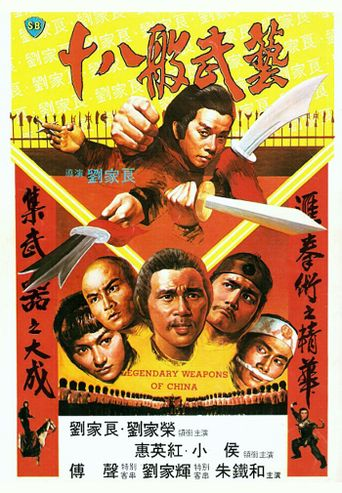 Legendary Weapons of China Poster