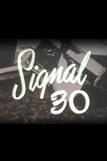 Signal 30 Poster