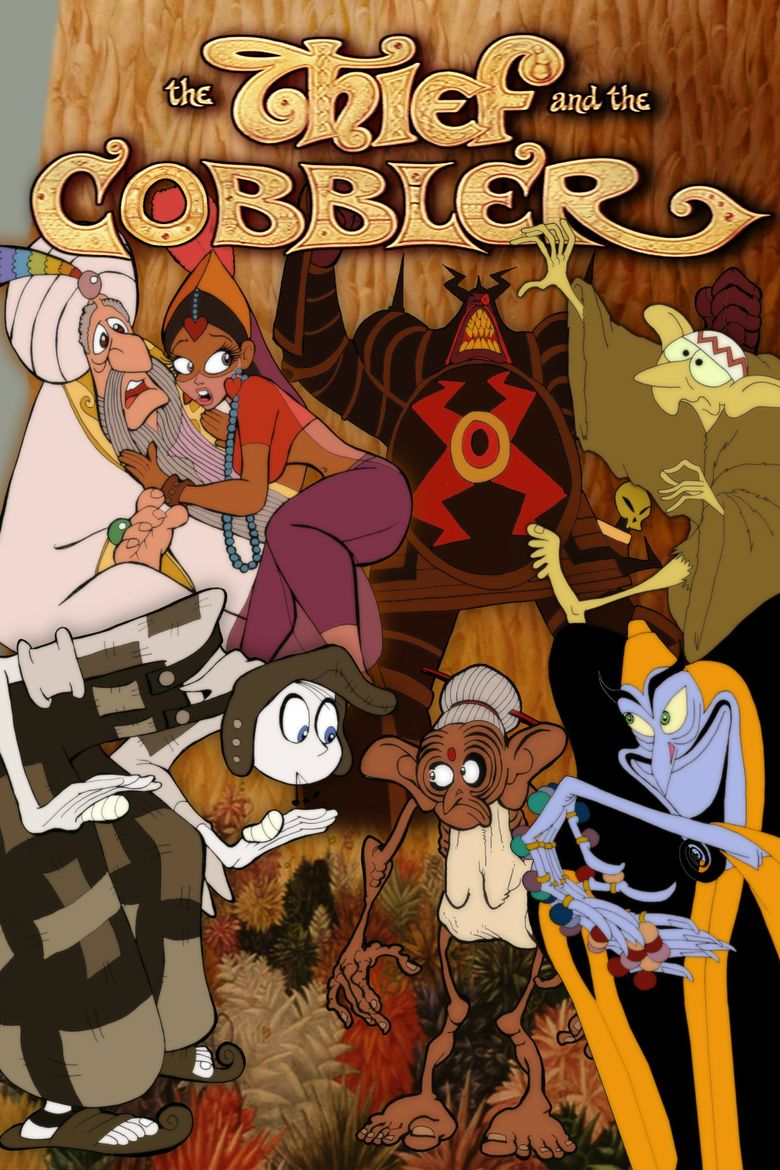 The Thief and the Cobbler Poster