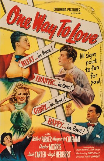 One Way to Love Poster