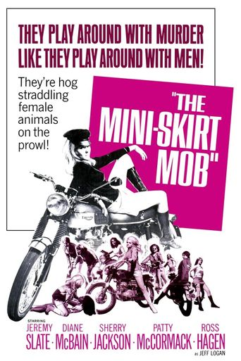 The Mini-Skirt Mob Poster