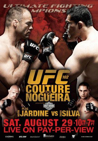 UFC 102: Couture vs. Nogueira Poster