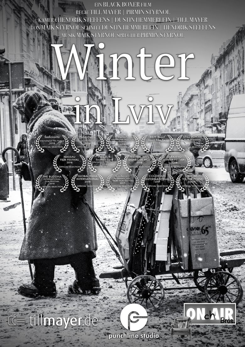 Winter in Lviv Poster
