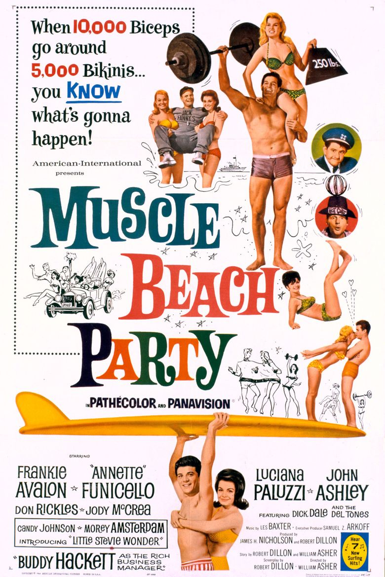 Muscle Beach Party Poster
