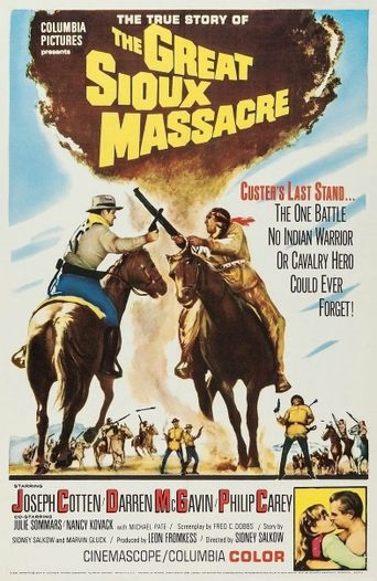 The Great Sioux Massacre Poster