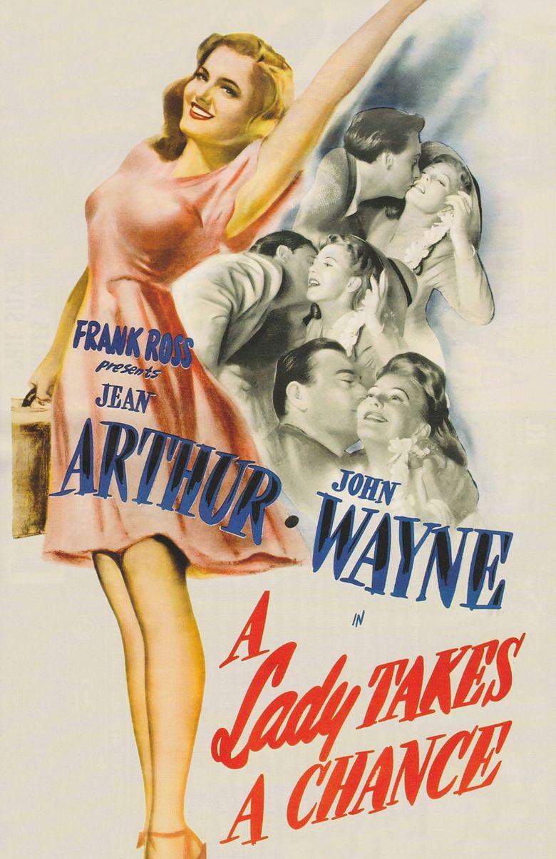 A Lady Takes a Chance Poster