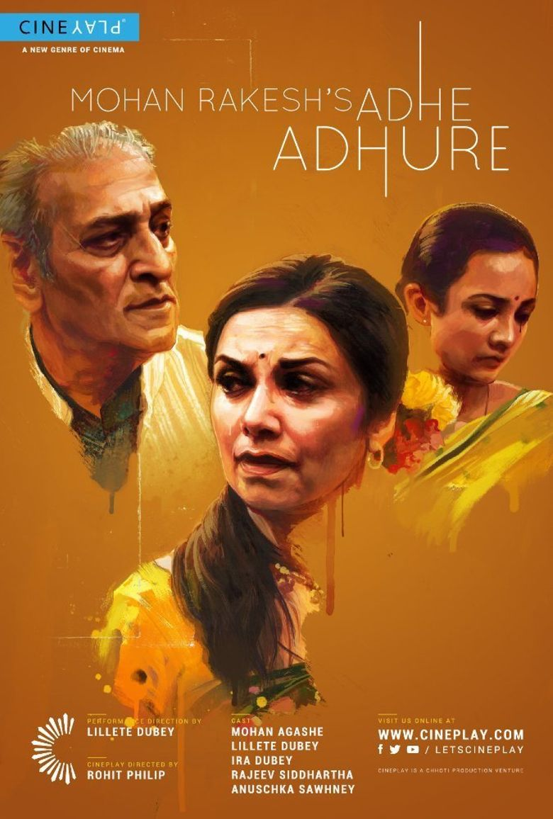 Adhe Adhure Poster