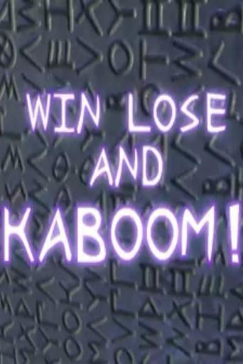 Jimmy Neutron: Win, Lose and Kaboom Poster