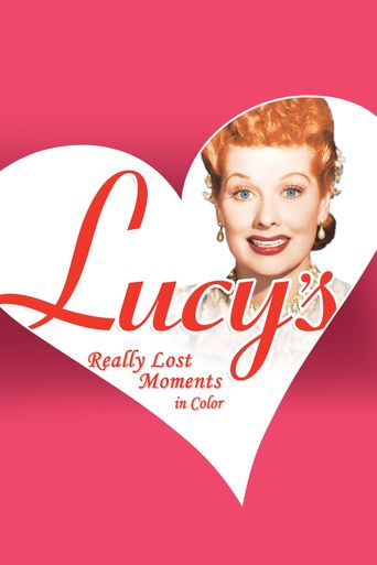 Lucy's Really Lost Moments Poster
