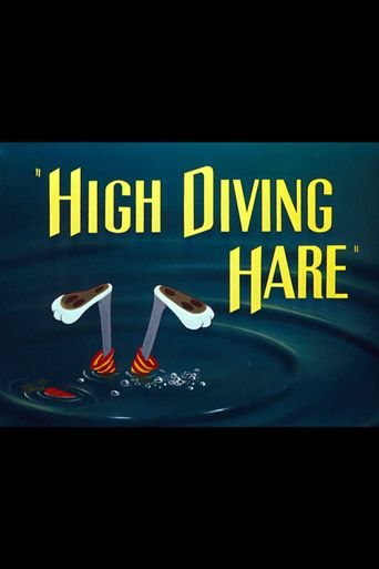 High Diving Hare Poster