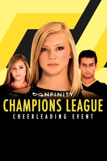 Nfinity Champions League Cheerleading Event Poster