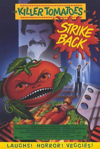Killer Tomatoes Strike Back! Poster