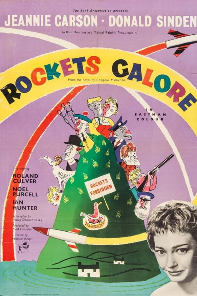 Rockets Galore Poster