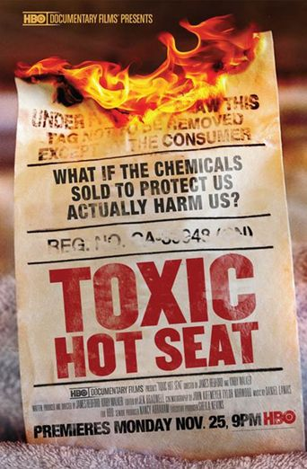 Toxic Hot Seat Poster