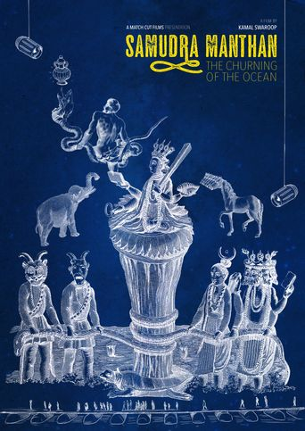 The Churning of the Ocean Poster