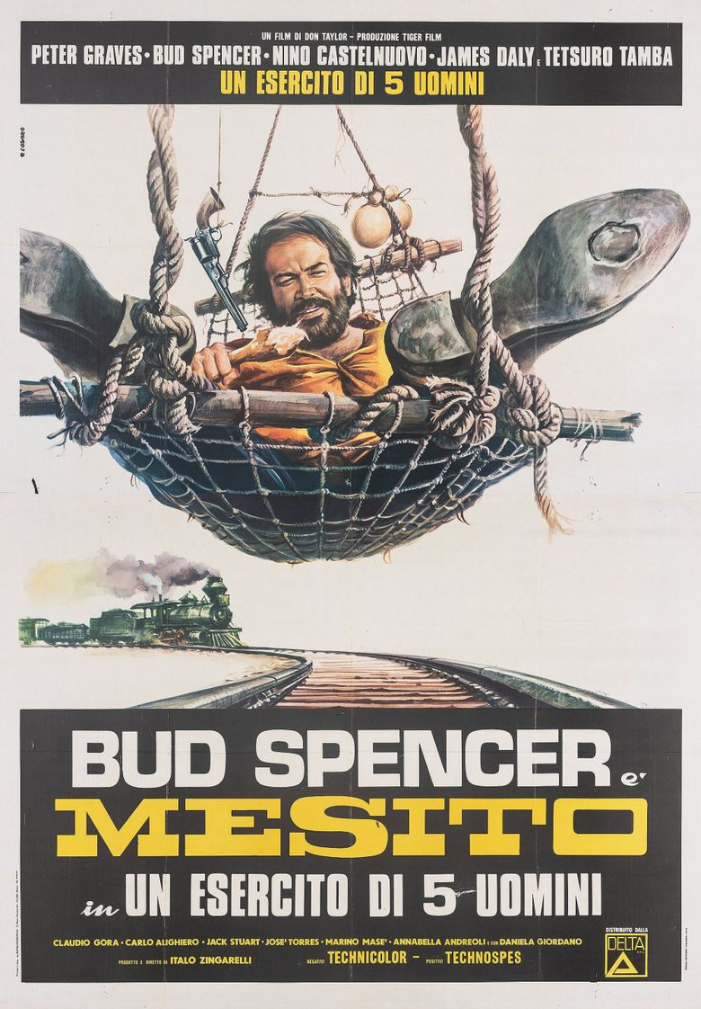 The Five Man Army Poster