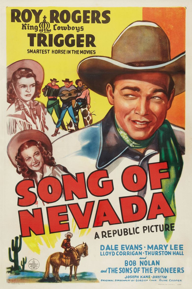 Song of Nevada Poster
