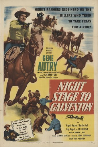 Night Stage to Galveston Poster