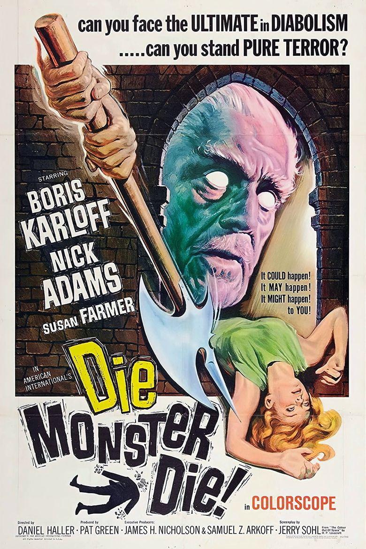 Die, Monster, Die! Poster