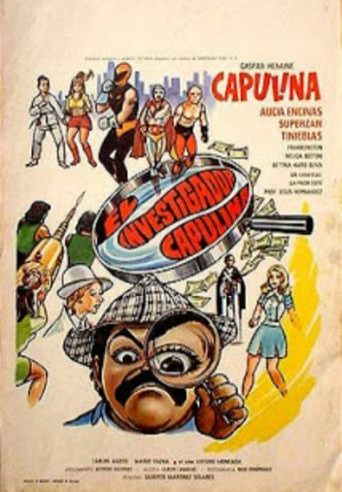 El investigador Capulina Poster