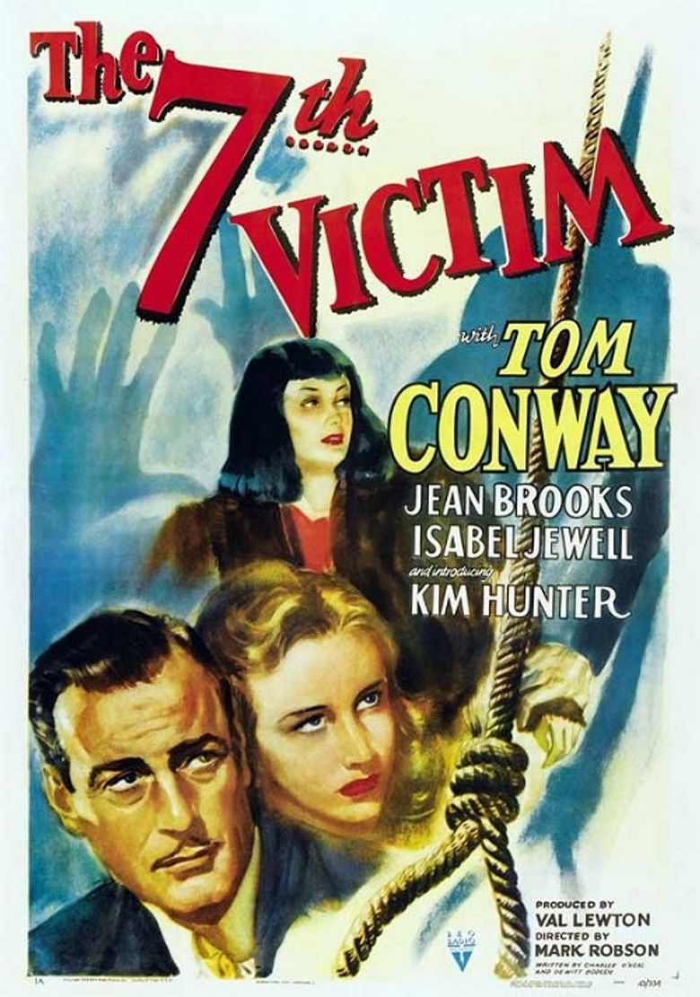 The Seventh Victim Poster