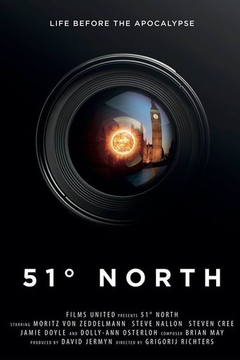51 Degrees North Poster