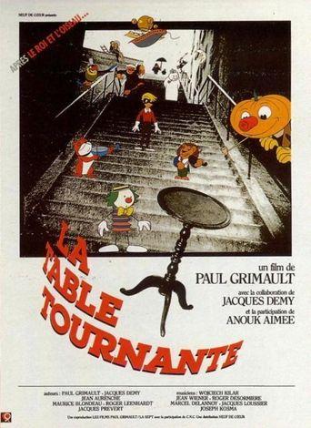 La Table Tournante Poster
