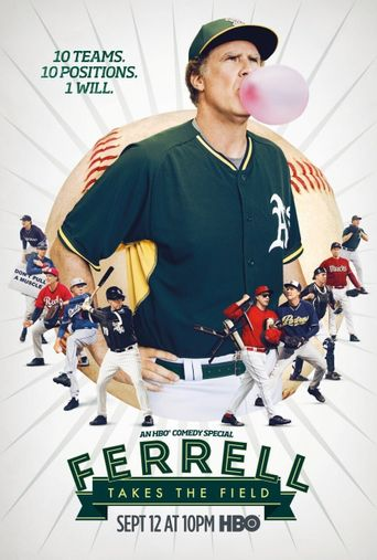 Ferrell Takes the Field Poster