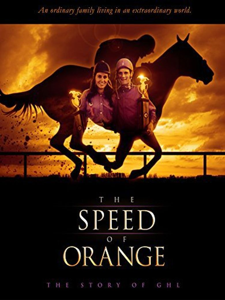 The Speed of Orange Poster
