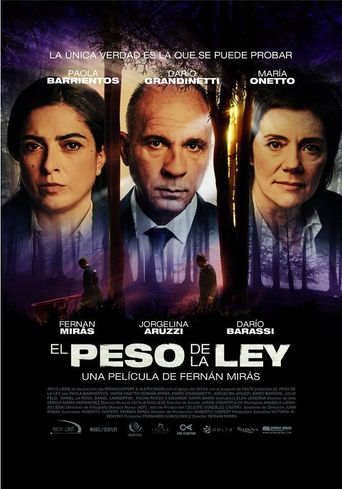 The Heavy Hand of the Law Poster