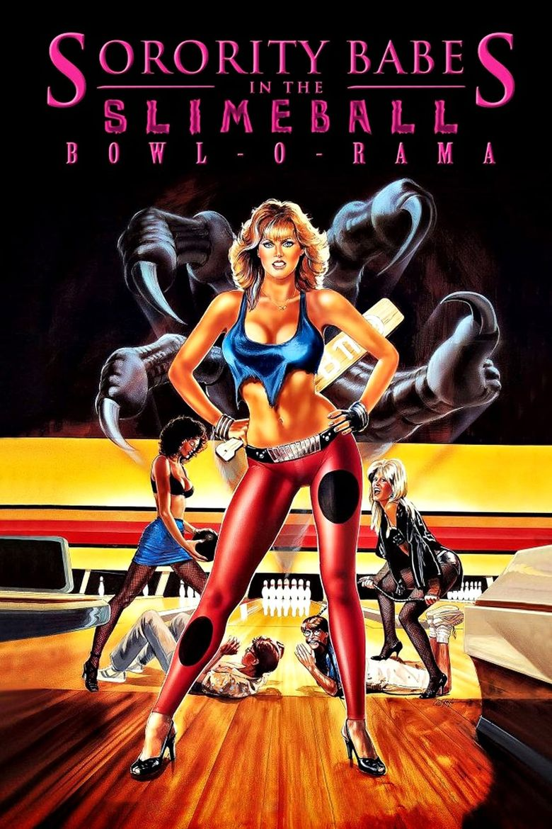 Sorority Babes in the Slimeball Bowl-O-Rama Poster