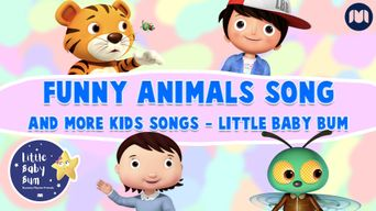 Funny Animals Song and More Kids Songs - Little Baby Bum Poster