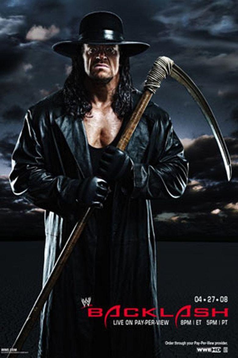WWE Backlash 2008 Poster